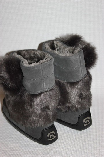 MANITOBAH FOR J.CREW Gray Boots Image 4