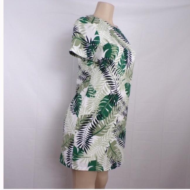 Lulu's Palm Leaf Shift Dress short dress green on Tradesy Image 2