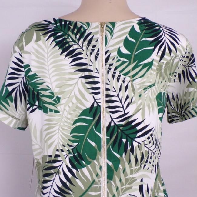 Lulu's Palm Leaf Shift Dress short dress green on Tradesy Image 3