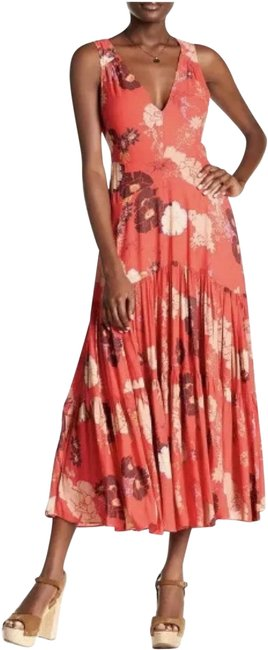 Red Maxi Dress by Free People Image 0