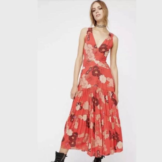 Red Maxi Dress by Free People Image 2