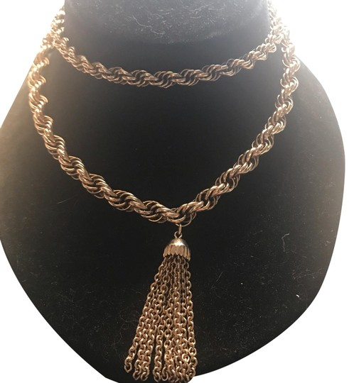 Preload https://img-static.tradesy.com/item/24847128/gold-24-nice-gf-rope-chain-with-a-tassel-hanging-necklace-0-1-540-540.jpg