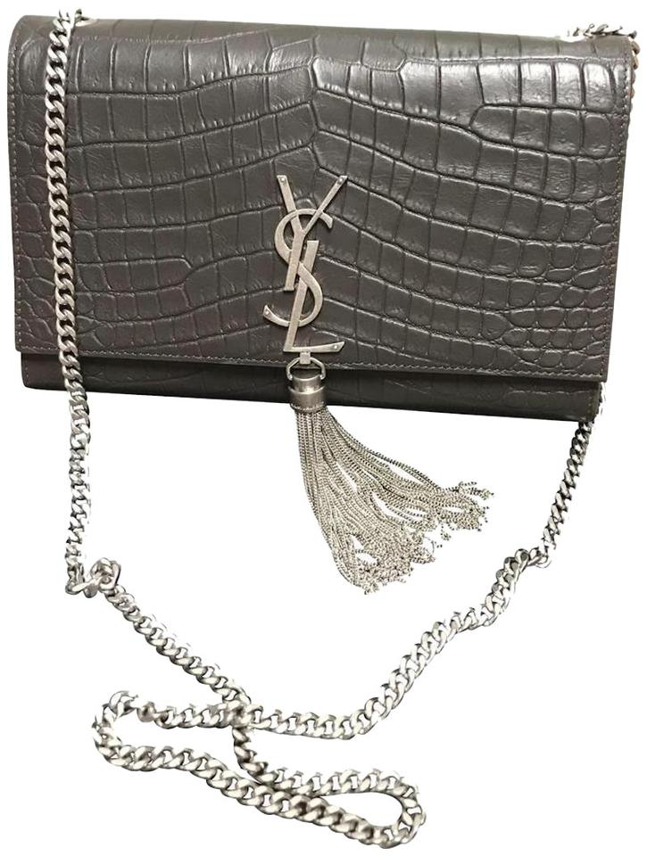 b351c8a6c2 Saint Laurent Monogram Kate Ysl Medium Monogram Tassel Embossed New ...