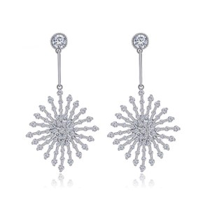 ME Boutiques Private Label Collection Swarovski Crystals The Poppy Starburst Earrings S3