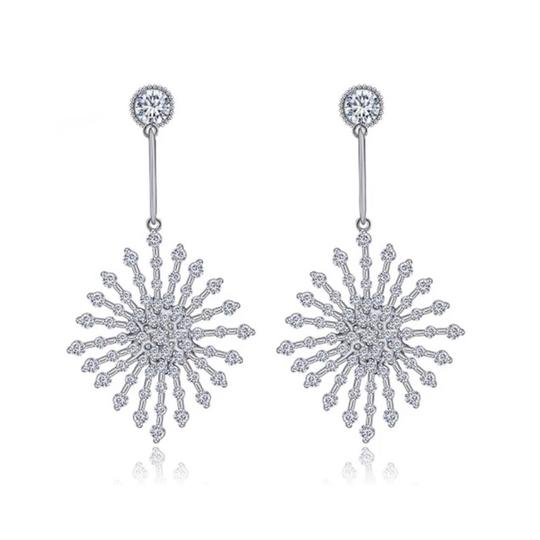 ME Boutiques Private Label Collection Swarovski Crystals The Poppy Starburst Earrings S3 Image 0
