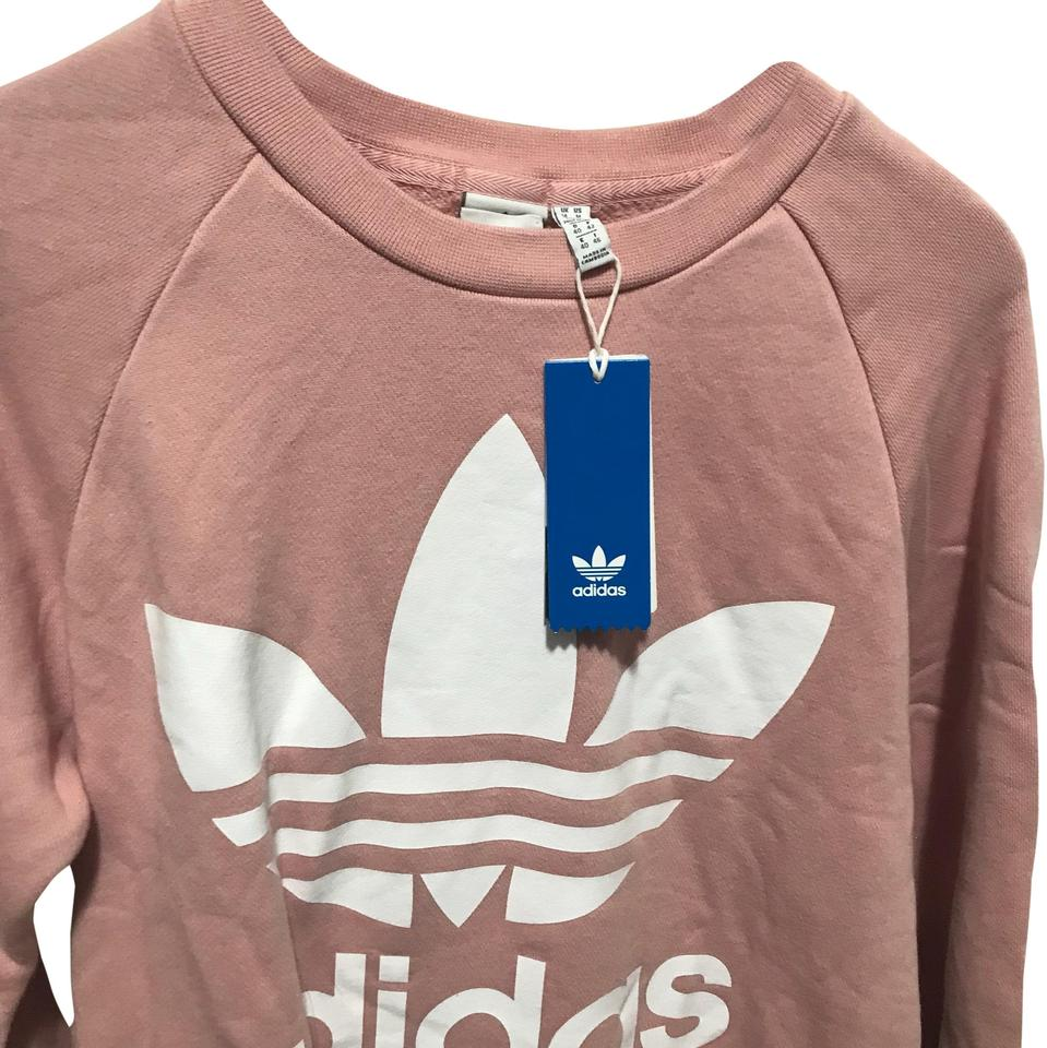 dd6d491464b adidas Pink Oversized Sweat Activewear Top Size 10 (M) - Tradesy