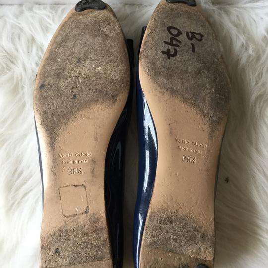 French Sole Blue Flats Image 3