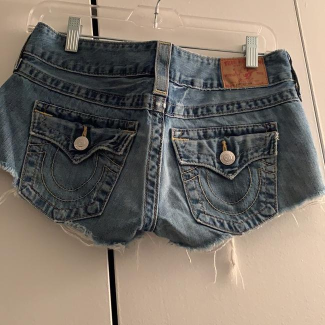 True Religion Denim Shorts-Distressed Image 1