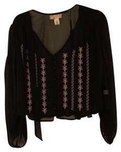 Band of Gypsies Top black with gold