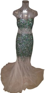 Camille la Vie Mermaid Sequin Gown Sequin Prom Gown Dress