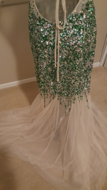 Camille la Vie Mermaid Sequin Gown Sequin Prom Gown Dress Image 11