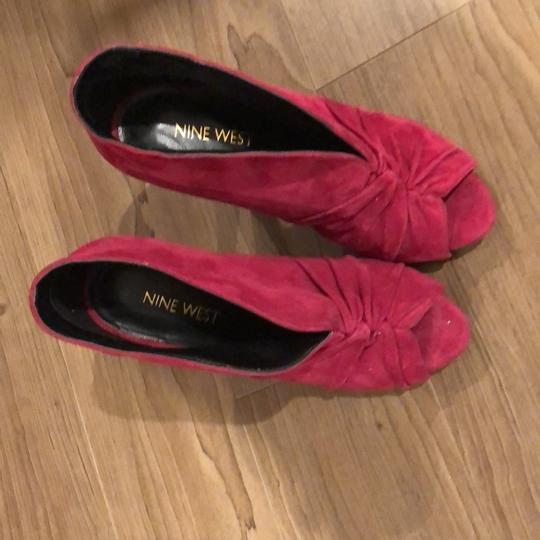 Nine West Size 5 Red red Sandals Image 2