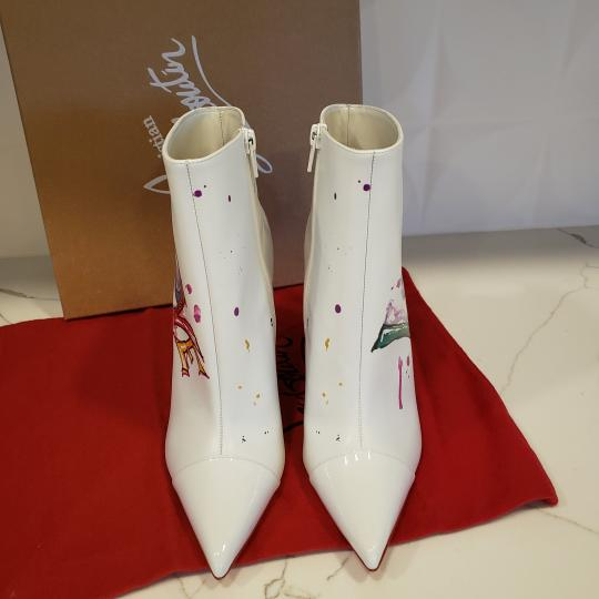 Christian Louboutin Stiletto So Kate Love White Boots Image 2
