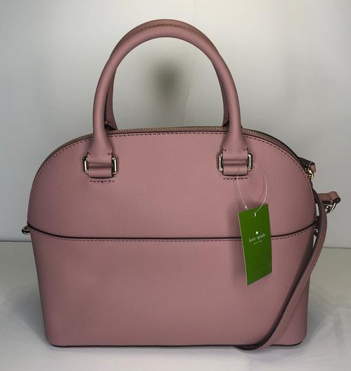 Kate Spade Carli Matching Wallet Matching Set New Satchel in Dusty Peony Image 7