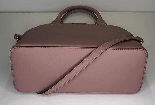 Kate Spade Carli Matching Wallet Matching Set New Satchel in Dusty Peony Image 8