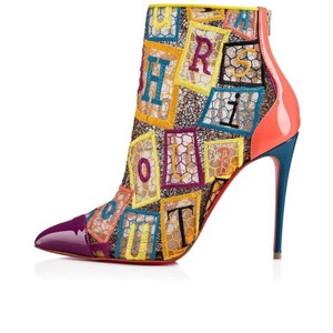 Christian Louboutin Heels Lace Gipsy Alpha Multi Boots