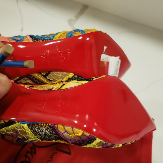 Christian Louboutin Heels Lace Gipsy Alpha Multi Boots Image 2