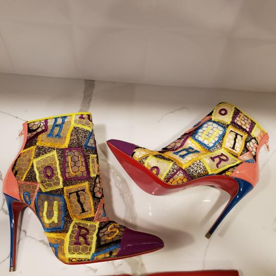 Christian Louboutin Heels Lace Gipsy Alpha Multi Boots Image 5