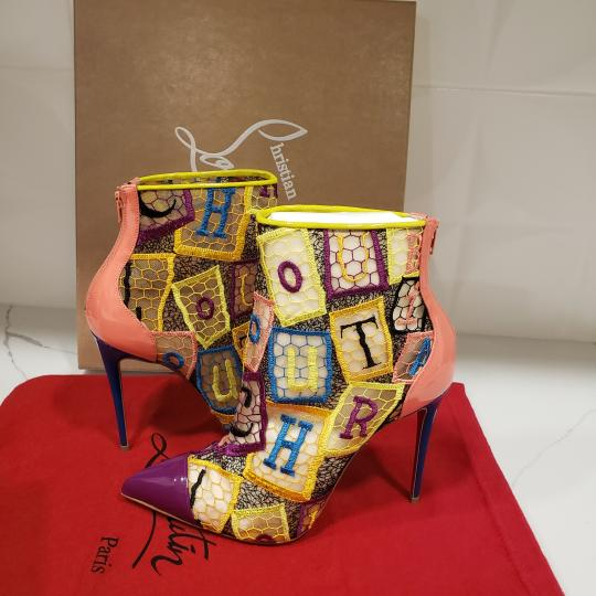 Christian Louboutin Heels Lace Gipsy Alpha Multi Boots Image 6