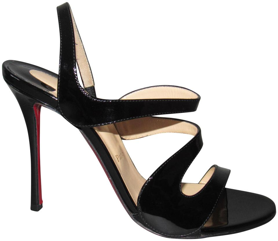 2ce777eb733b Christian Louboutin Red Sole With Box Pumps Black Sandals Image 0 ...