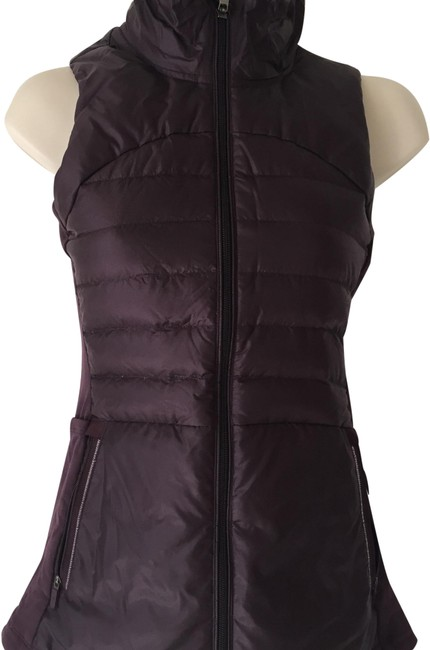 Item - Black Cherry Down For A Run Ii Vest Size 2 (XS)
