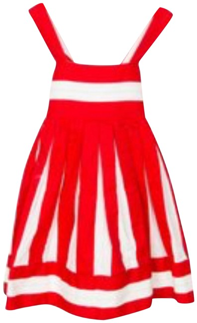 Preload https://img-static.tradesy.com/item/24848034/redwhite-girls-5t-pleated-a-line-mid-length-short-casual-dress-size-00-xxs-0-1-650-650.jpg