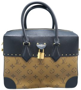 71ec2b1a722b00 Louis Vuitton Lv Monogram City Malle Canvas Satchel in Brown - closet img