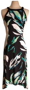 Black/White/Green/Blue Maxi Dress by Chico's