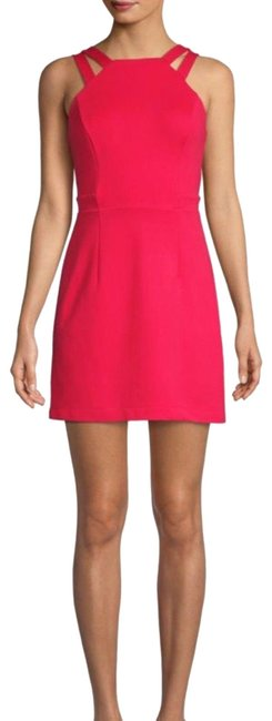 Item - Red Whisper Lula Double Strap Short Night Out Dress Size 6 (S)