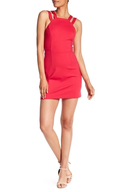 Item - Red Whisper Lula Double Strap Short Night Out Dress Size 10 (M)