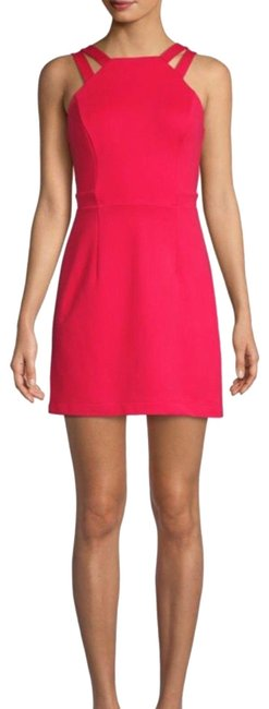 Item - Red Whisper Lula Double Strap Short Night Out Dress Size 12 (L)