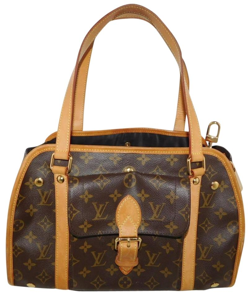 a426e00b3fe0 Louis Vuitton Sac Baxter Pm Dog Pet Carrier Monogram Canvas Tote ...