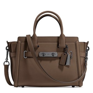 Coach Satchel in Olive