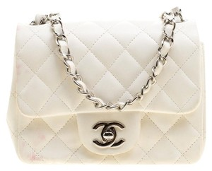Chanel Quilted Leather Mini Classic Shoulder Bag