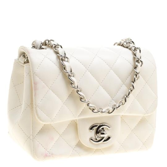 Chanel Quilted Leather Mini Classic Shoulder Bag Image 9
