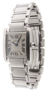 Cartier Mint Ladie's Cartier Tank Francaise 2384 SS 21mm Quartz Watch
