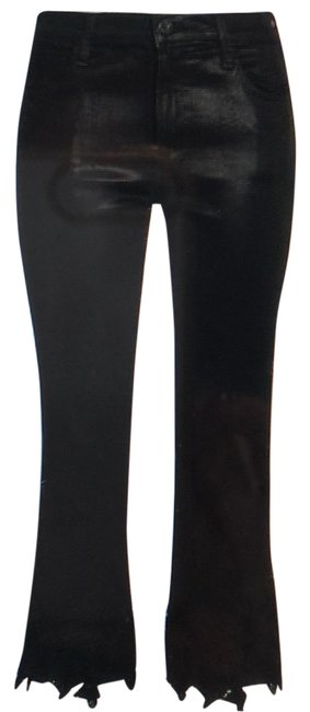 Item - Coated Selena Lace-trimmed Flare Leg Jeans Size 6 (S, 28)