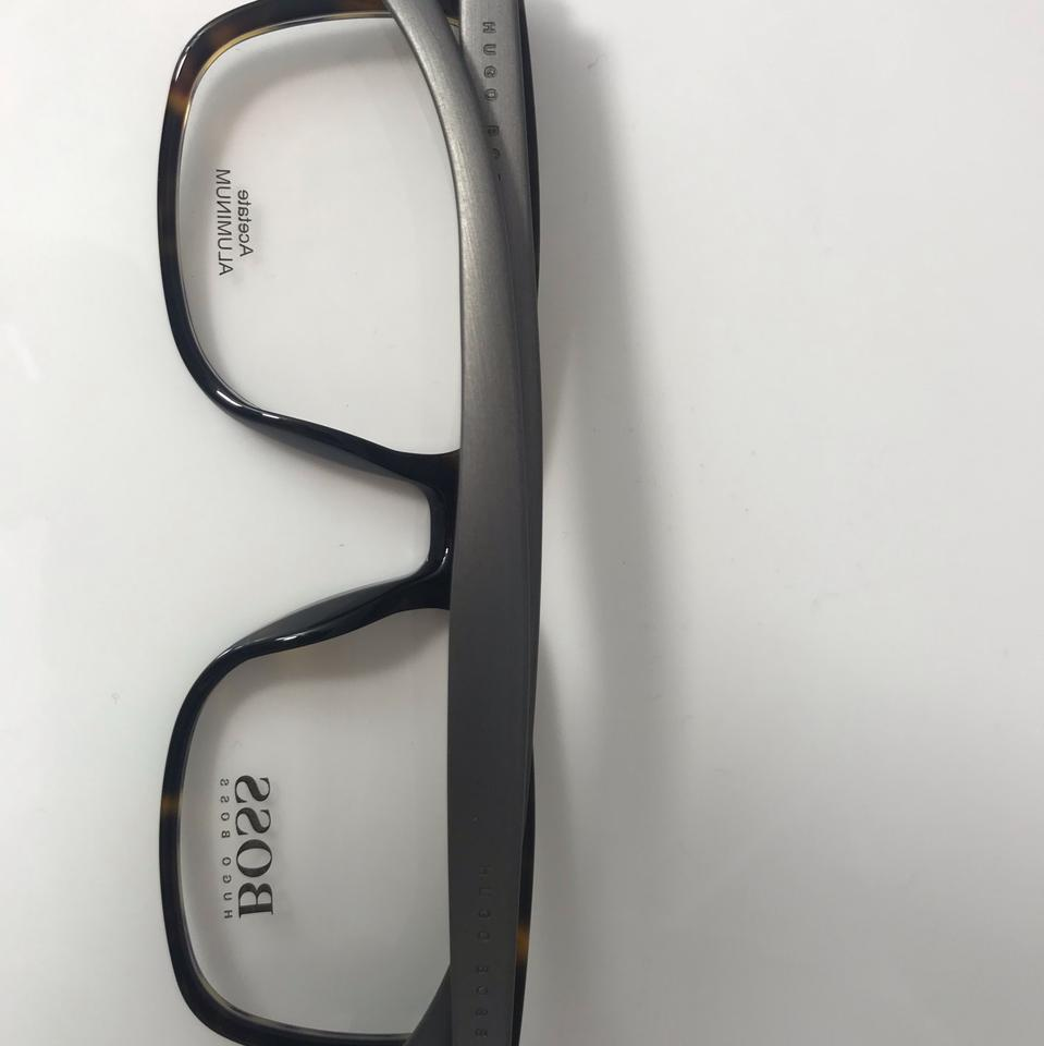 3fd53c583a Hugo Boss Brown Men s Eyeglasses - Tradesy