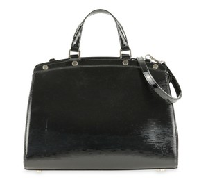 Louis Vuitton Patent Leather Tote in Black