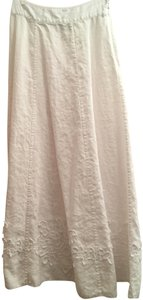 Soft Surroundings Maxi Skirt White
