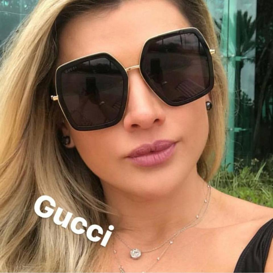 9e98e78c9f159 Gucci Black New Gg0106s 0106s Oversized Square Sunglasses - Tradesy