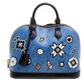 Louis Vuitton Leather Satchel in Blue Image 0