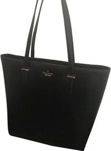 Kate Spade Large Leather New Without Tags Tote in Black