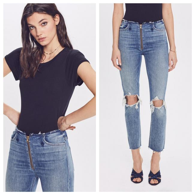 Mother Skinny Jeans-Distressed Image 3
