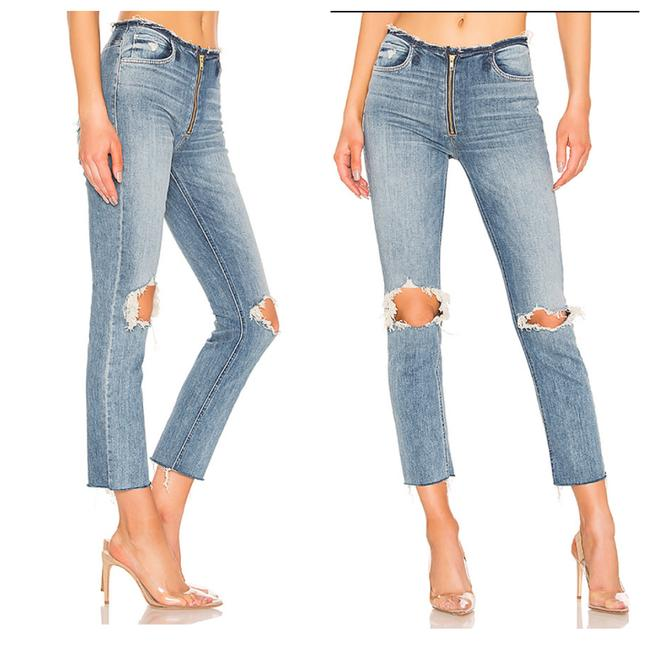 Mother Skinny Jeans-Distressed Image 4