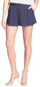 Joie Dress Shorts navy white