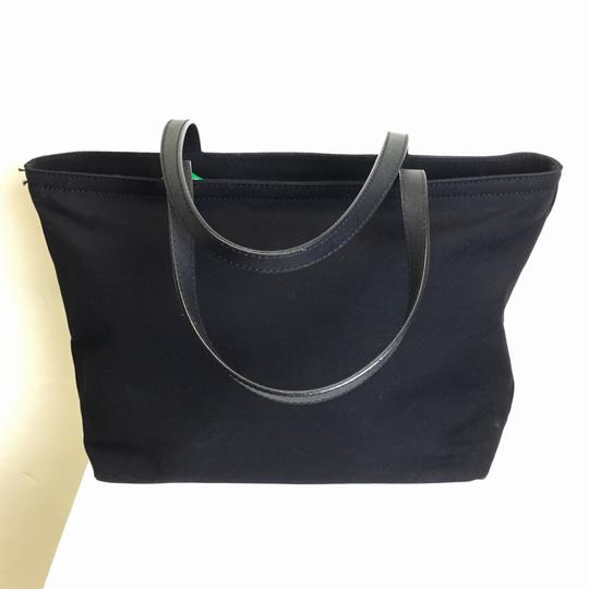 Kate Spade Canvas Tote in Black Image 3
