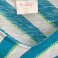 Lilly Pulitzer short dress turquoise white green on Tradesy Image 3