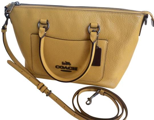 Preload https://img-static.tradesy.com/item/24850901/coach-mini-emma-flax-leather-satchel-0-1-540-540.jpg