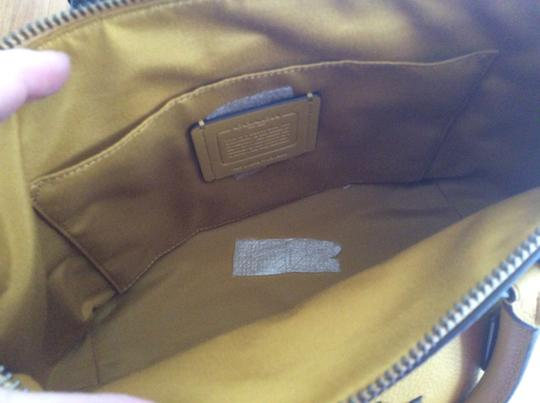 Coach New With Tags Satchel in Flax Image 5